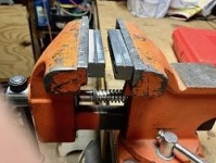Magnetic V Block Vise Jaws