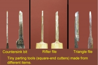 Small Parting Tools