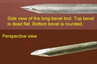 Long Bevel Cutting Tool