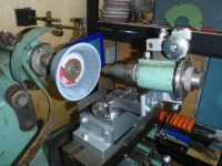 Tool Grinder Radius Attachment
