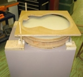 Powered Radiused Dish Sander