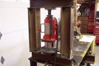 Hydraulic Bearing Press