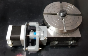 Homemade CNC Rotary Table