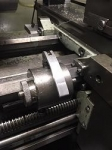 Lathe Bed Stop Modification