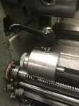 Lathe Bed Stop Handle