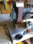Combination Belt Sander and Grinder