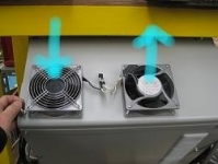 Welder Cooling Modification