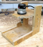 Column Routing Jig