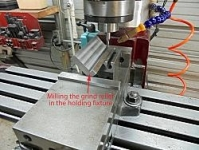 Tool Holder Machining Fixture