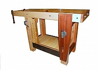 Butcher Block Workbench