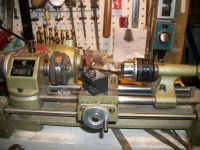 Tailstock Chuck Modification
