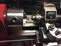 Rotary Broaching on a Lathe