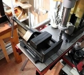 Drill Press Vise Restoration