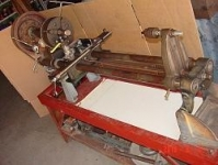 Wood Lathe Conversion