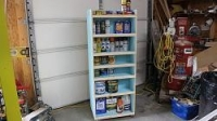 Paint and Adhesives Cart