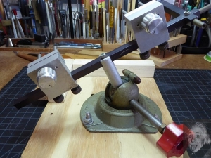 Twin Sliding Vise Holder