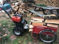 Snowblower Cart