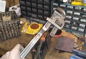 Pipe Wrench Restoration