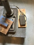 Drill Press Foot Switch