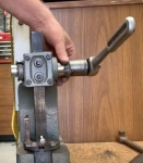 Arbor Press Handle Modification