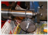 Mill Gear Cutting Attachment