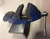 Bench Vise Modification