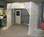 Indoor Sandblast Booth