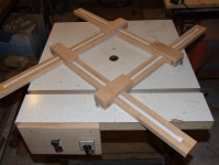 Saucer Routing Jig