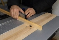 Table Saw Routing Attachment