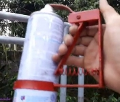Spray Paint Can Holder