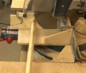 Dowel Making Fixture