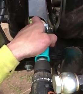 90 Degree Drilling Method