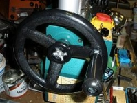 Mini Lathe Crank and Handwheel