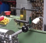 Lathe Chuck Key Holder