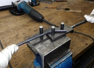 Easy to Build Metal Bender - HomemadeTools net