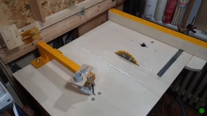 Table Saw and Fence