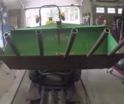 Tractor Brush Forks