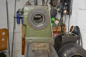 Lathe Spindle Head Modification
