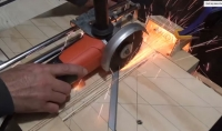 Angle Grinder Sliding Cutting Jig