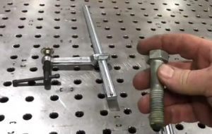 Welding Table Clamp Modification