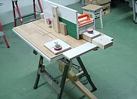 Rolling Mortise Jig