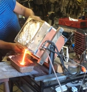 Homemade Induction Furnace