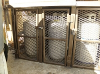 Propane Cylinder Security Cage