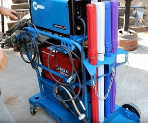 Homemade Welding Cart - HomemadeTools.net