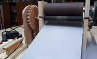Drum Sander Feed Mechanism