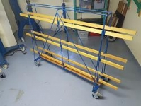 Sheetmetal Storage Dolly