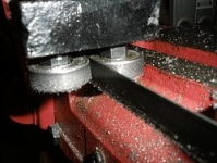 Horizontal Bandsaw Bearing Modification
