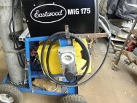 Welding Cart Receptacle
