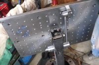 Welding Table Angle Lock