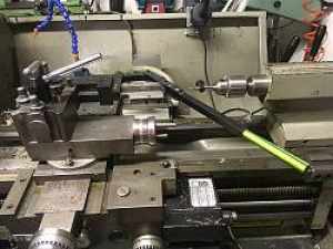 Lathe Broaching Attachment
